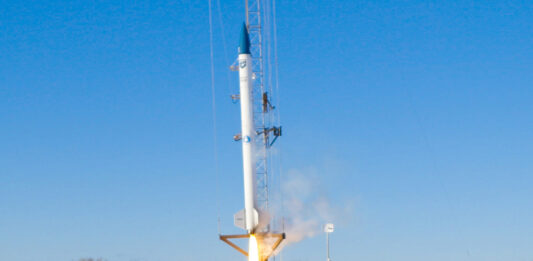 In Maine, First commercial biofuel booster rocket launches