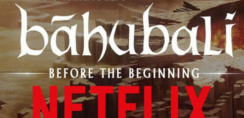 Baahubali  : Clearness About Netflix's New Web Series Baahubali