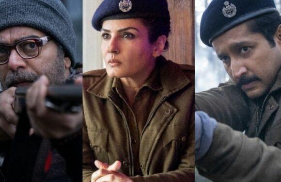 Raveena Tandon  to debut in the web series Aranyak